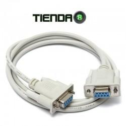 Cable DB9 Null Modem Hembra A DB9 Hembra, 1.5m