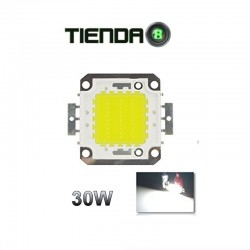 ChipLed 30W, 0.9A, Blanco Neutro Para Proyector Exterior