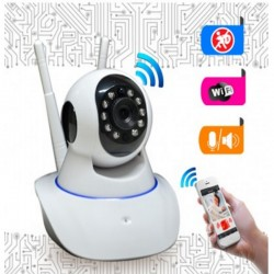 Cámara IP P2P Wifi Día y Noche, Fácil Instalación