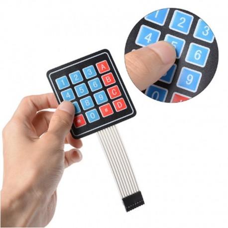 Teclado Numérico Matricial 4 X 4 Para Proyectos Arduino