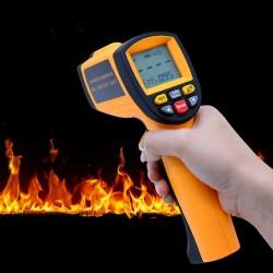 Termómetro Pistola Láser, Mide desde +200ºC hasta +1650 °C