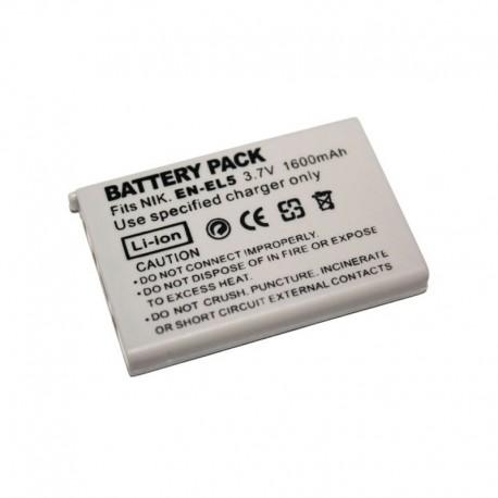 Batería EL-EL5 de Reemplazo para Coolpix 3700, P3, P4, etc