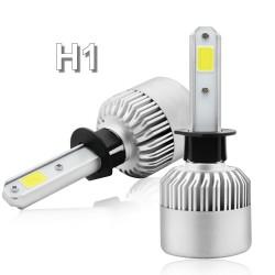 H1 COB Led Par Luces Delanteras Para Automóviles 72W / 7600 Lum (PAR)