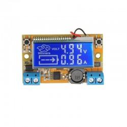 Regulador Voltaje Step Down DC-DC Voltimetro y Amperimetro LCD