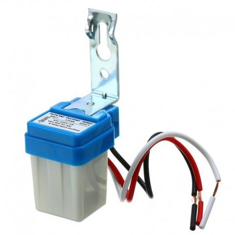 Fotocelda Sensor Encendido Luminarias de 220Vac, Max 10A
