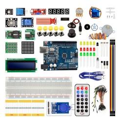 Kit Arduino Uno Stepper Motor, RFID, Sensores y Componentes