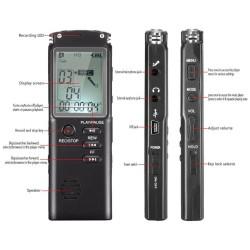 Grabador De Voz Digital y reproductor Mp3 de Alta Fidelidad, T60