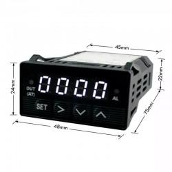 XMT7100 Controlador Digital De Temperatura PID Para Sonda K, J