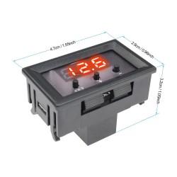 Control de Temperatura Frio/Calor W1209E, 12V