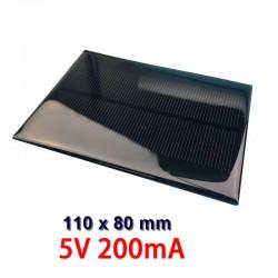 Celda Solar Policristalina de 5V @200mA , 1W, Proyectos DIY