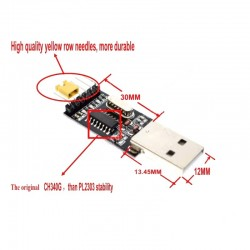 USB a TTL Convertidor UART Módulo CH340 Voltaje 3,3V y 5V