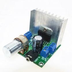Amplificador Stereo TDA7297, 30W 2X15W, 12V