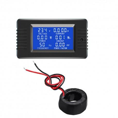 Medidor PZEM-022 6 en 1, Pantalla LCD, de Voltaje, Corriente, Potencia, Energía, Etc