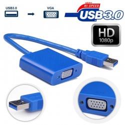 Adaptador De Video Usb 3.0 A Vga Para Monitor Extendido o Proyector