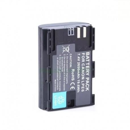 LP-E6 batería alternativa para Canon 5D Mark II, III y Otras