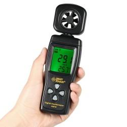 Anemómetro Digital Smart Sensor AS816