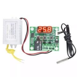 Control Temperatura W1209 Frio/Calor con Fuente de Poder 12Vdc