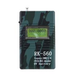 Frecuencímetro Digital Portatil Rike Rk-560 50 Mhz ~ 2.4 Ghz