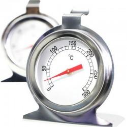 Termómetro Analógico 300 °C, Ideal para Hornos, Cocinas, etc