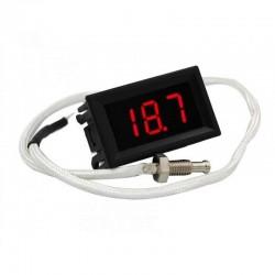Termómetro Digital XH-B310, 800 ºC, Sonda K, Alimentación 12V