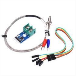 MAX6675 Sonda Tipo K + Modulo Sensor Temperatura Arduino