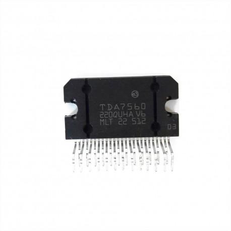 Circuito Integrado TDA7560 Amplificador De Audio 4 X 51W