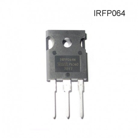 Transistor Mosfet de Potencia IRFP064, 70A, 150W, Canal N, TO-247