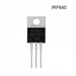 Transistor Mosfet IRF640, Canal N, 200V, 18A, TO-220