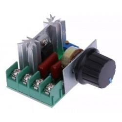 Dimmer Regulador De Voltaje AC 220V 2000W Carga Resistiva