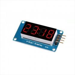 Modulo Display Led 4 Dígitos Controlador TM1637 Arduino