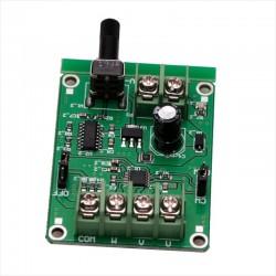 Control de Velocidad Para Motor Brushless 5 a 12 Vdc, 1.2A