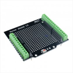 Proto Screw Shield con Terminales y Borneras, Para Arduino UNO R3