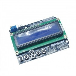 Pantalla Lcd 1602 Con Teclado, Shield Arduino
