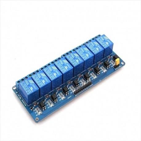 Módulo Relé 8 Canales Para Arduino, Raspberry, Pic