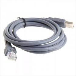 Cable Para Lector de Código de Barras LS1203, LS2208, LS4208, LS3008, etc