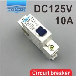 Interruptor 10A 1P 125V TOB1Z-63, Curva C, Para Sistema Solar