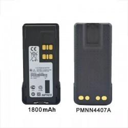 Batería PMNN4407, para DGP8550, DEP550, 1800mAh Li-Ion
