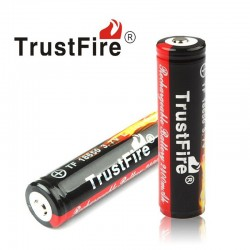 Bateria De Litio 18650, 3.7v - 2400mAH - TrustFire Fuego