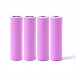 Pack de 4 Baterías 18650 Flat, 1200mAh, Múltiples Usos