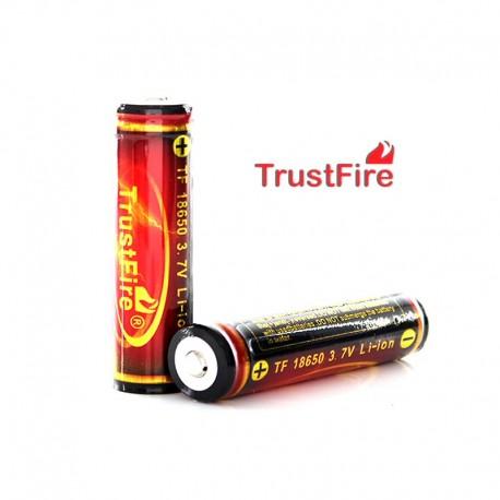 Bateria De Litio 18650, 3.7v - 3000mAH - Trustfire Infierno