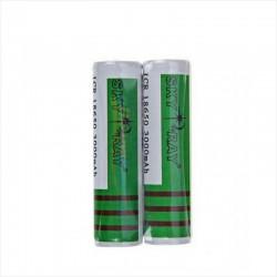 Bateria De Litio ICR 18650, 3.7v - 3000mAH - Sky Ray, Verde