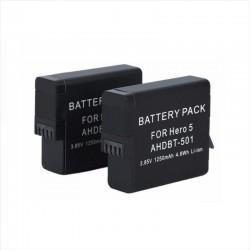 2 Baterías Gopro Pro Hero5 1220mAh