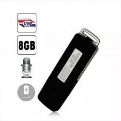 Grabadora De Audio Espia, Forma De Pendrive - 8Gb