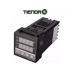 Controlador De Temperatura PID, REX C100, Incluye Accesorios
