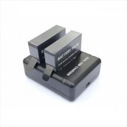 2 Baterías Gopro Pro Hero4 Silver/Black 1600mAh Con Cargador Doble!