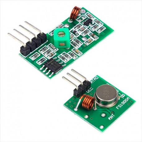 Transmisor Y Receptor Módulo Rf 433 Mhz Para Arduino Y Pic Tienda8