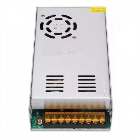Fuente Switching 220V / 12V DC / 40A, Ventilador Integrado