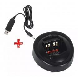 Cargador USB 5V, Para Radios Motorola Pro5150, Pro7150, Etc
