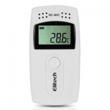 Data Logger Para Temperatura Y Humedad Rc-4HC Elitech
