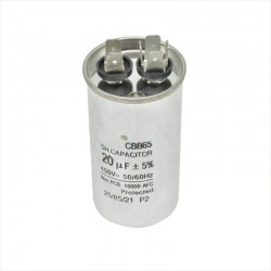 CBB65 20uF 450V AC Arranque de Motores Monofasicos, Menor 1 HP